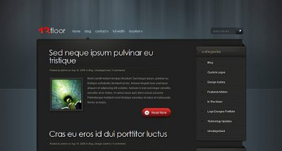 Elegant Themes 13floor WordPress Theme 4.4.12