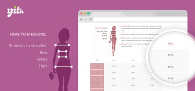 YITH Product Size Charts for WooCommerce Premium 1.1.20