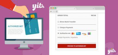 YITH Woocommerce Authorize.net Payment Gateway Premium 1.1.11