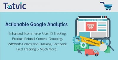 Actionable Google Analytics for WooCommerce 3.3.6
