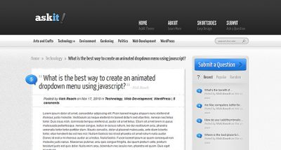 Elegant Themes AskIt WordPress Theme 4.1.12