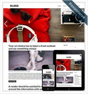 Dessign Blogg Responsive WordPress Theme 2.0.1