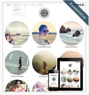Dessign Circles Responsive WordPress Theme 2.0