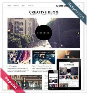 Dessign Creative Blog Responsive WordPress Theme 2.0