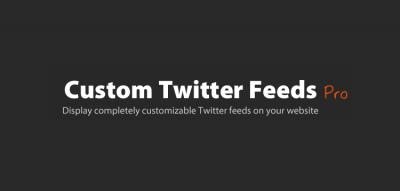 Custom Twitter Feeds Pro (By Smash Ballon) – Customizable Twitter feeds for your website 1.14