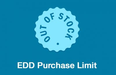 Easy Digital Downloads Purchase Limit Addon 1.2.21