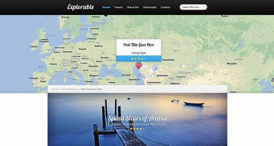 Elegant Themes Explorable WordPress Theme 1.9.14