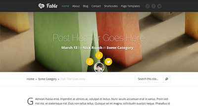 Elegant Themes Fable WordPress Theme 1.7.13