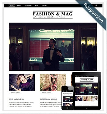 Dessign Fashion & Mag Responsive WordPress Theme 2.0