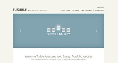 Elegant Themes Flexible WordPress Theme 2.6.13