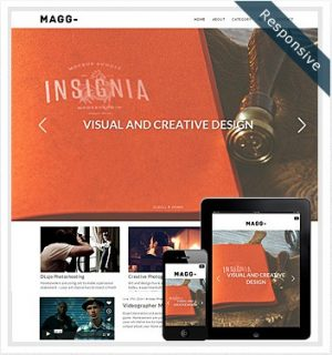 Dessign Magg Responsive WordPress Theme 2.0.1