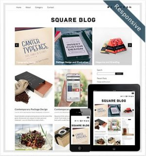 Dessign Square Blog Responsive WordPress Theme 2.0.1