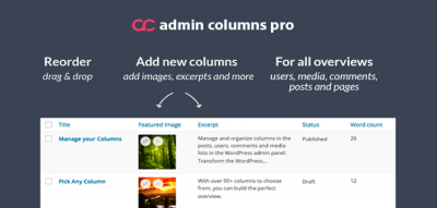 Admin Columns Pro - Meta Box Integration 1.1