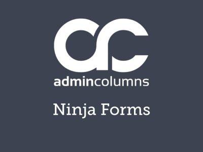 Admin Columns Pro Ninja Forms Addon 1.3.1
