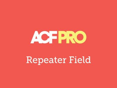 Advanced Custom Fields Repeater Field Addon 2.1.0