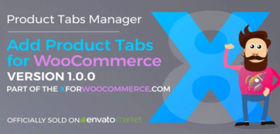 Add Product Tabs for WooCommerce  1.3.1
