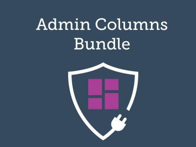 Admin Columns Pro Bundle