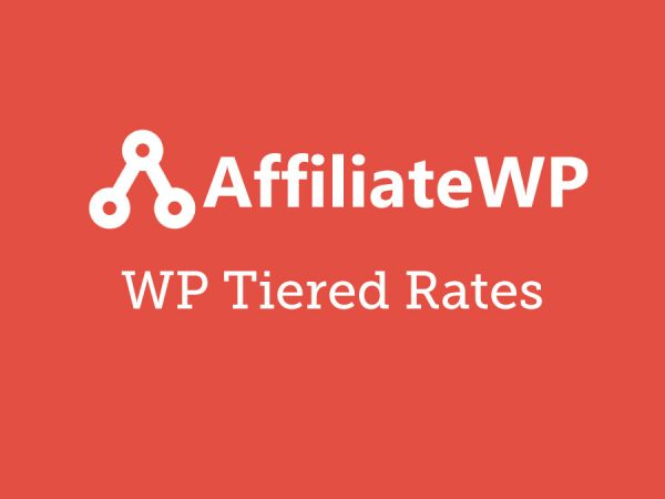 AffiliateWP Tiered Affiliate Rates Addon 1.1.2
