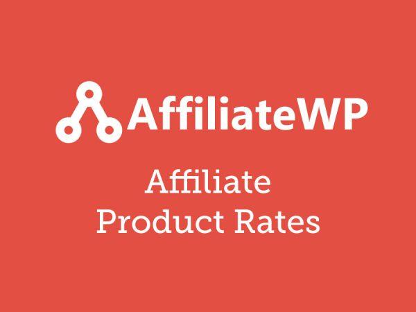 AffiliateWP Affiliate Product Rates Addon 1.0.5.1