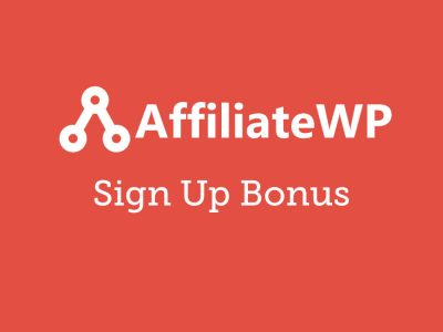 AffiliateWP Sign up Bonus Addon 1.2