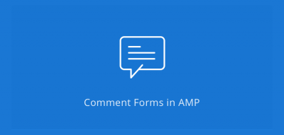 AMPforWP - Comment Form for AMP  2.6