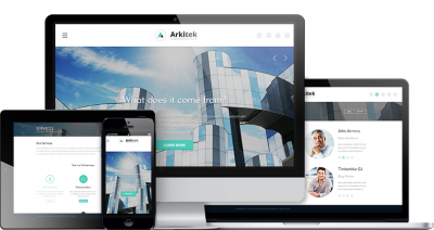 Arkitek WordPress Theme 1.1.1