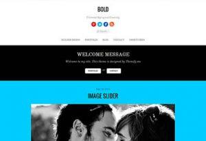 Themify Bold WordPress Theme 2.4.3