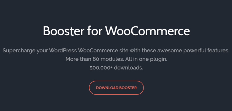 Booster Plus for WooCommerce Plugin 5.1.0