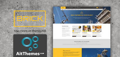 AIT - Brick WordPress Theme 1.56