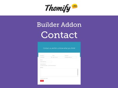 Themify Builder Contact Addon 1.3.7
