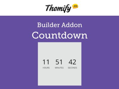 Themify Builder Countdown Addon 2.0.1