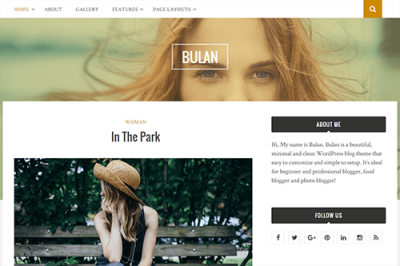 Theme Junkie Bulan WordPress Theme 1.0.9
