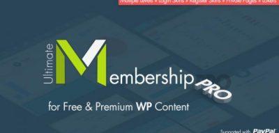 Ultimate Membership Pro WordPress Plugin 8.9