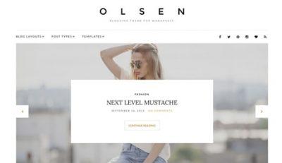 CSS Igniter Olsen WordPress Theme 2.5