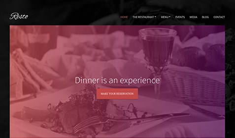 CSS Igniter Resto WordPress Theme 1.4