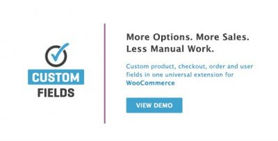 WooCommerce Custom Fields 2.3.2