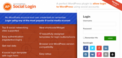 AccessPress Social Login 1.3.8