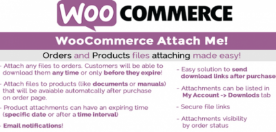 WooCommerce Attach Me! 18.0