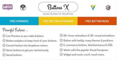Buttons X – Powerful Button Builder for WordPress 1.9.73