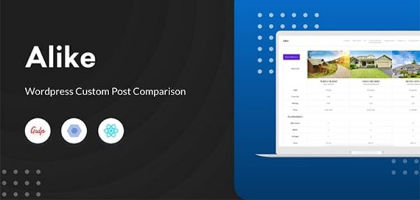 Alike - WordPress Custom Post Comparison  2.1.4