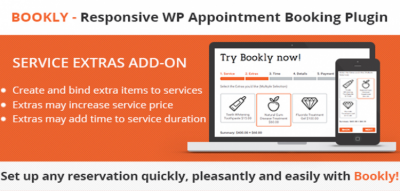 Bookly Service Extras (Add-on)  2.7