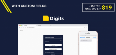 Digits : WordPress Mobile Number Signup and Login 6.8.2.7