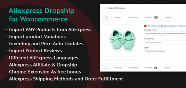 Aliexpress Dropship for Woocommerce 1.7.9