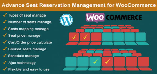 Advance Seat Reservation Management for WooCommerce 2.8
