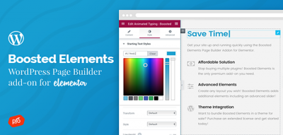 Boosted Elements | WordPress Page Builder Add-on for Elementor 4.0
