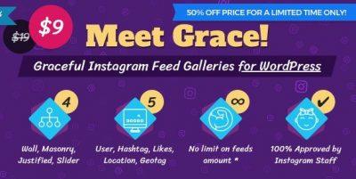 Instagram Feed Gallery – Grace for WordPress 1.2.6
