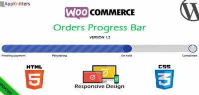 WooCommerce Orders Progress Bar 2.0.1