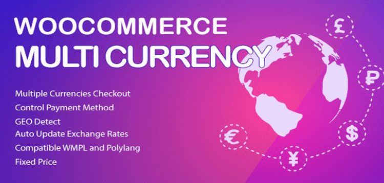 WooCommerce Multi Currency - Currency Switcher  2.1.21
