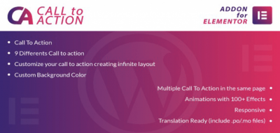 Call To Action for Elementor WordPress Plugin 1.0