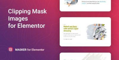 Masker – Clipping Mask for Elementor  1.1.1